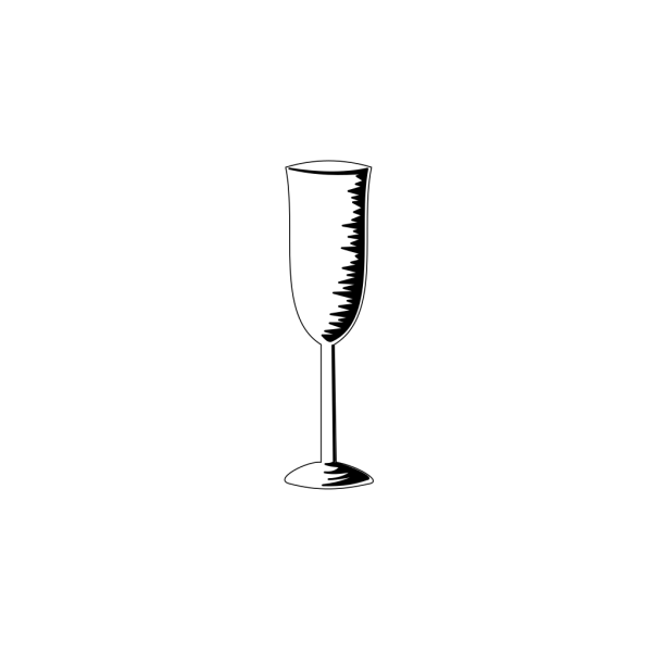 Champagne Glass PNG Clip art