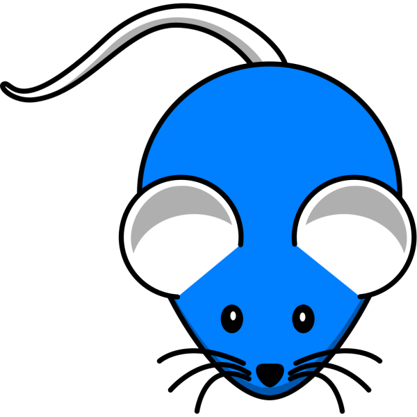 Blue Mouse PNG icons