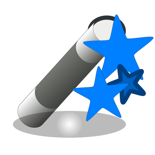 Magic Wand Blue PNG images