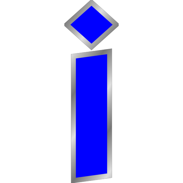 Letter I PNG Clip art