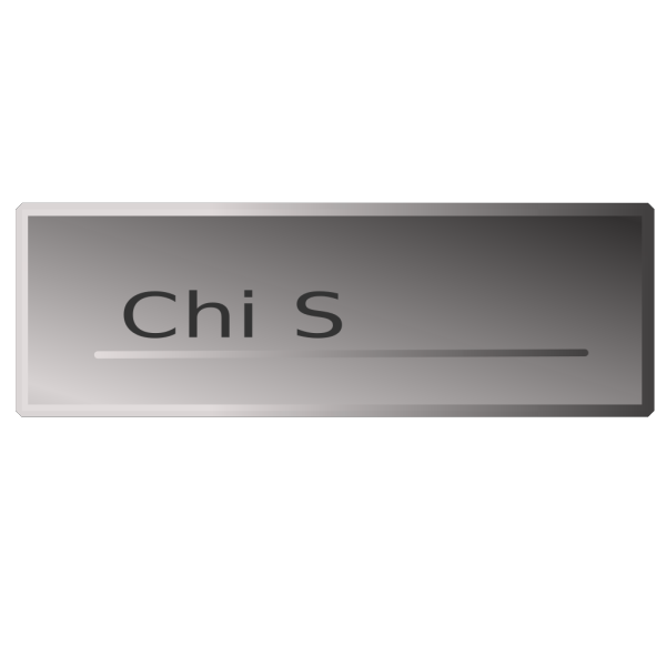 Silver Rectangle Button Chi  Siamo PNG images