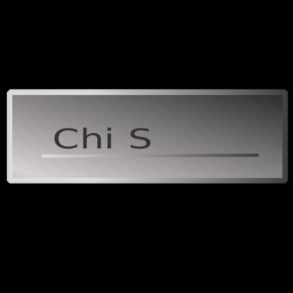 Silver Rectangle Button Chi  Siamo PNG Clip art