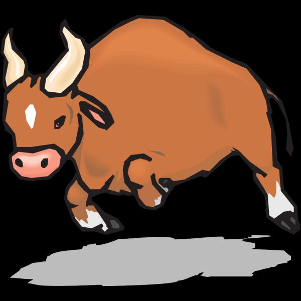 Charging Bull PNG Clip art