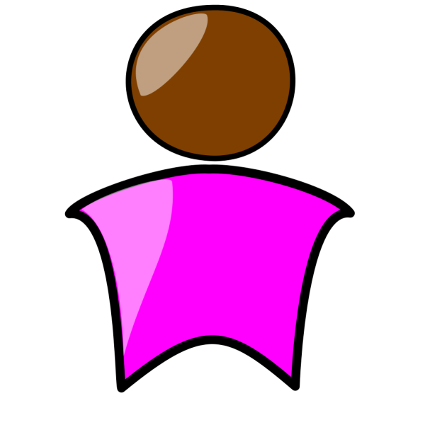 Person In Pink PNG Clip art