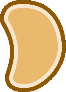 Brown Bean PNG images
