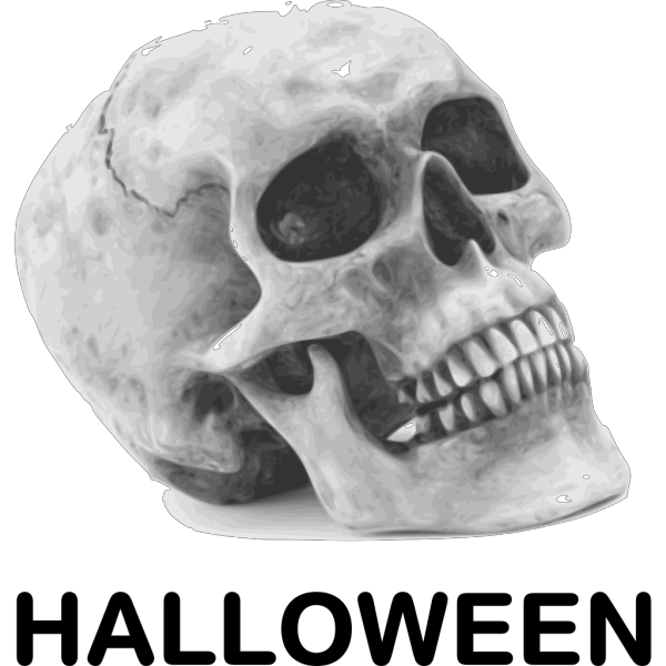 Halloween Skull PNG Clip art