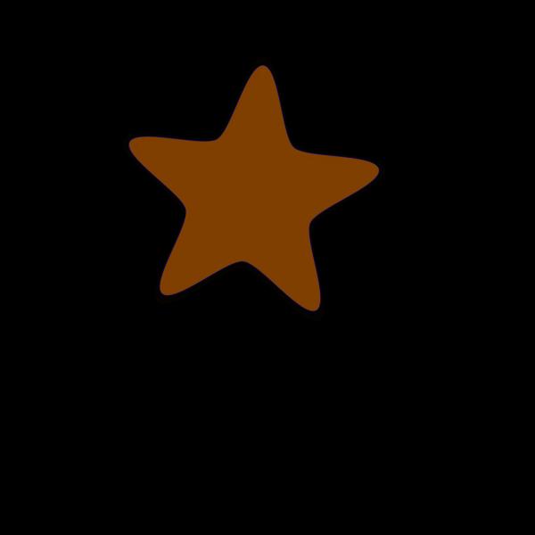 Brown-clip-art-star-hi PNG Clip art