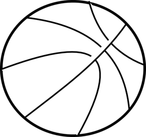 Basketball Outline PNG images