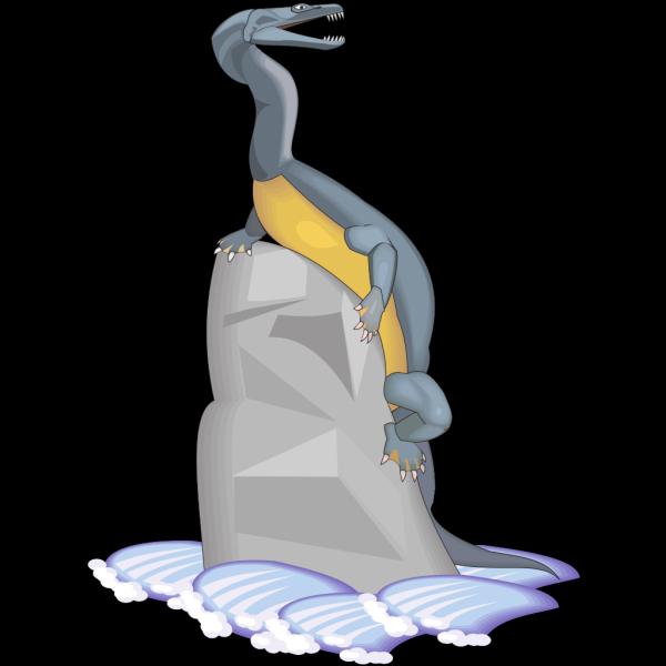 Nothosaurus PNG Clip art