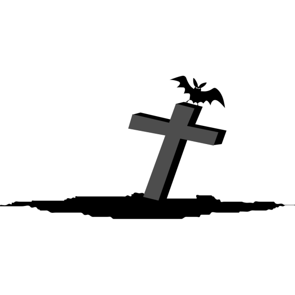 Cross Graveyard Rip PNG Clip art