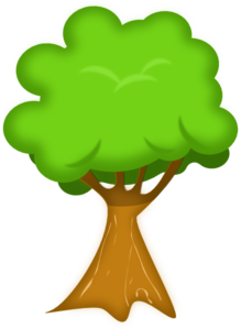 Envelope Tree PNG Clip art