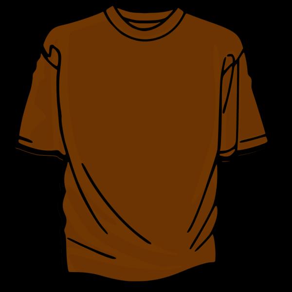 Brown T-shirt PNG Clip art