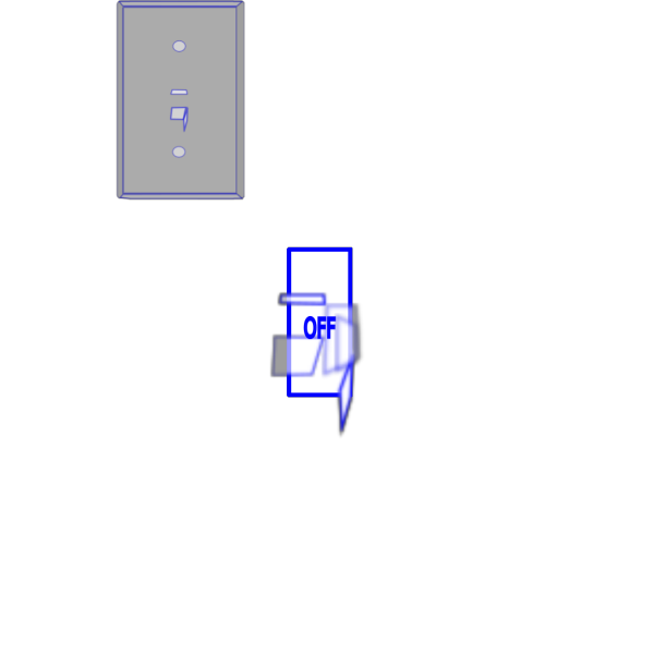Light Switch Off PNG images