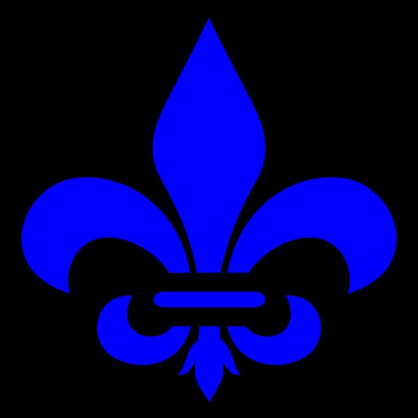 Blue Fluer PNG images