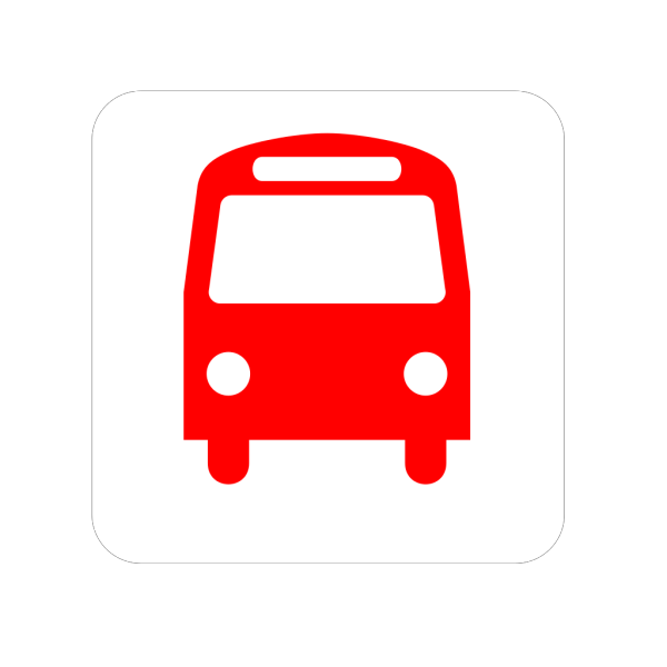 Simple Bus PNG icons