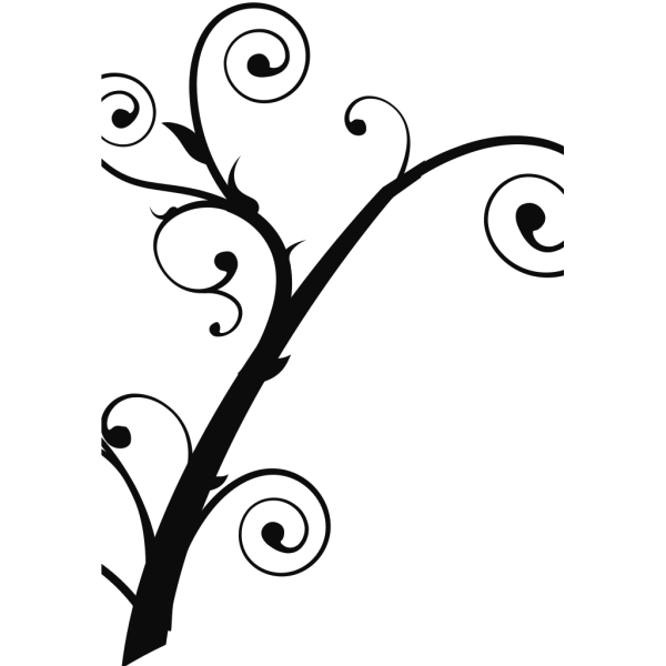 Curly Tree PNG Clip art