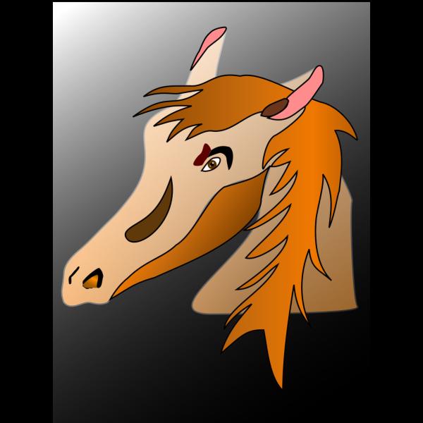 Horse Head PNG Clip art