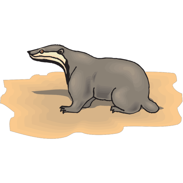 Sloth On The Ground PNG Clip art