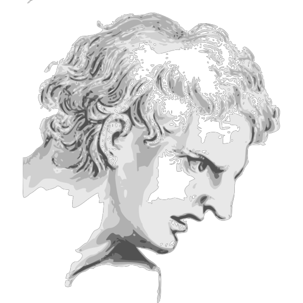 Face Expression Roman Man PNG Clip art