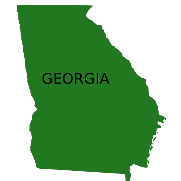 Georgia In Black PNG images