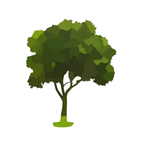 Black Tree PNG icon