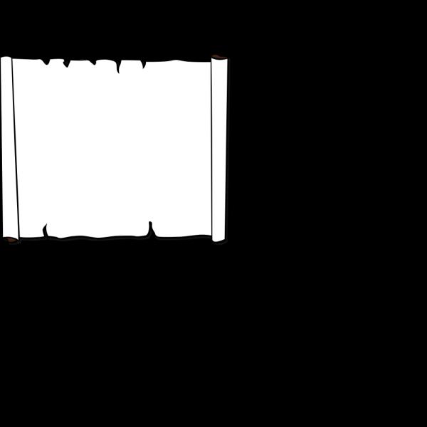 Brown Scroll PNG Clip art