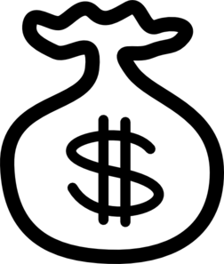 Money Bag2 PNG Clip art