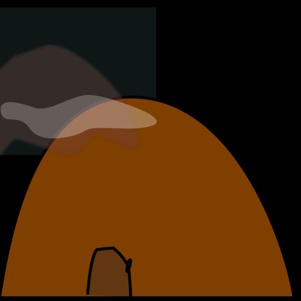 Hollow Mtnwn  PNG Clip art