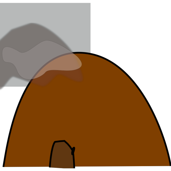 Hollow Mountain PNG Clip art