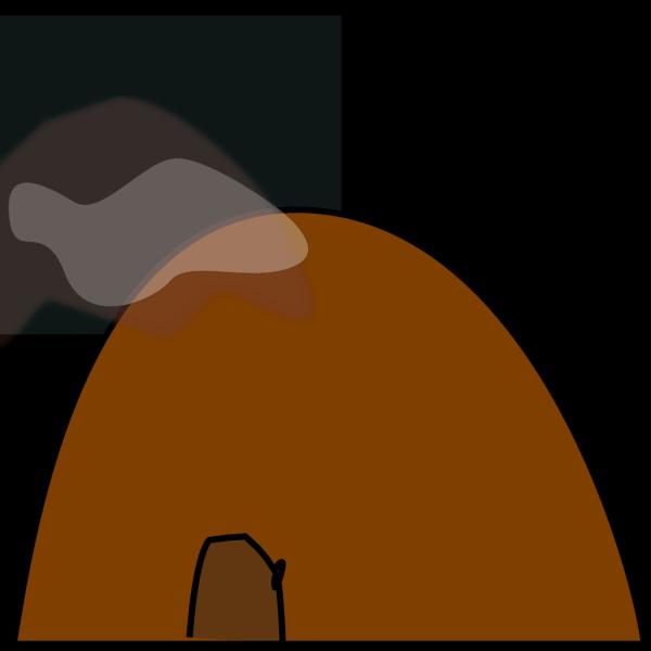 Hollow Mountain PNG Clip art