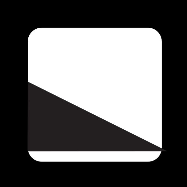 Black Ramp PNG Clip art