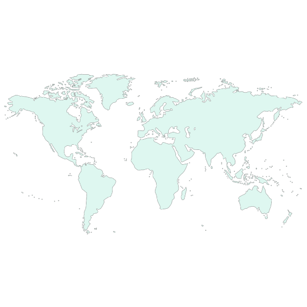Light Blue Earth PNG image