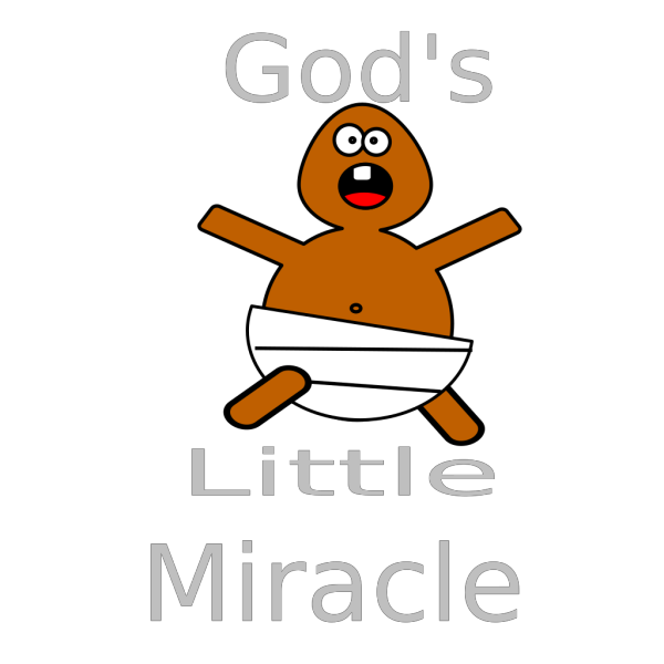 God S Little Miracle PNG images