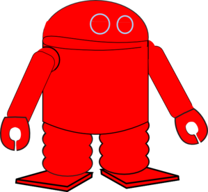 Red Robot PNG images