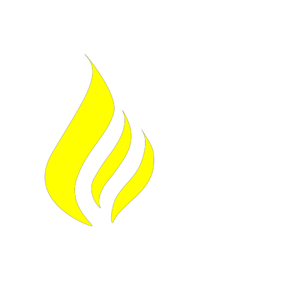 Blue And Yellow Flame PNG Clip art