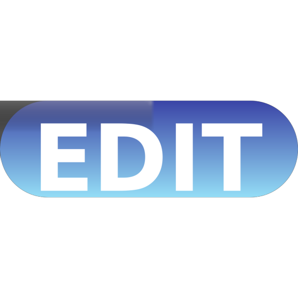 Edit Button Blue PNG images