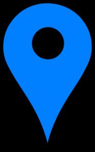 Blue Pin PNG Clip art