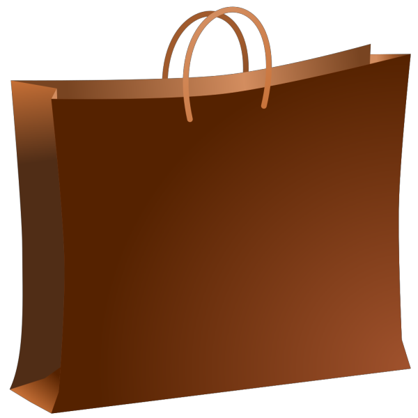 Brown Shopping Bag PNG images