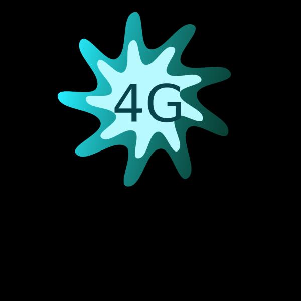 4g Button PNG Clip art