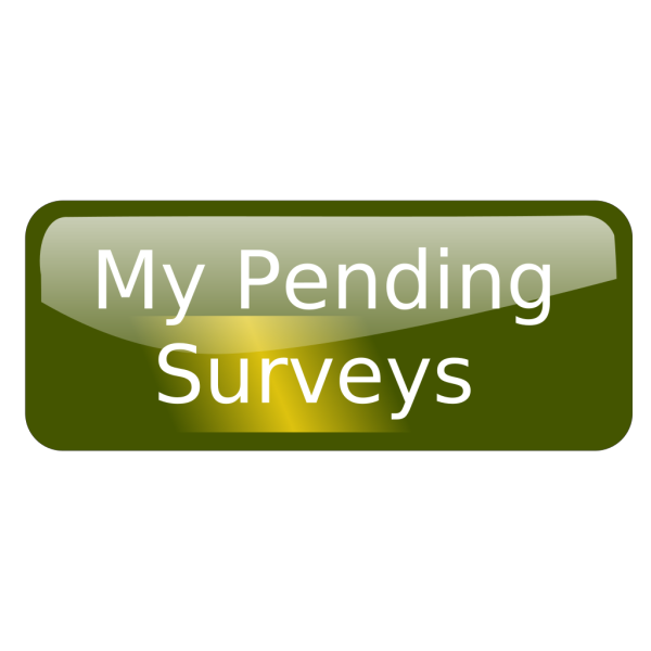 Pending Surveys Unpressed PNG images