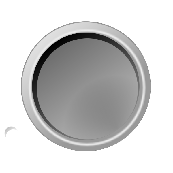 Glossy Darkgray Button PNG Clip art