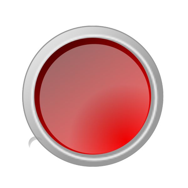 Glossy Red Button PNG Clip art