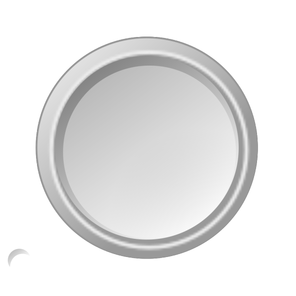 Glossy Lightgray Button PNG Clip art