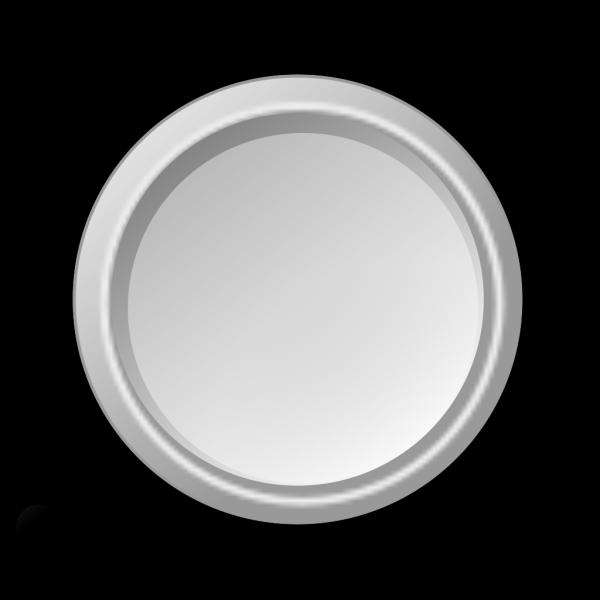 Glossy Lightgray Button PNG Clip art