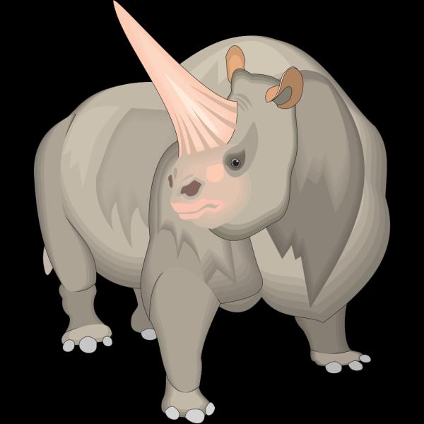 Elasmotherium Sibiricum PNG Clip art