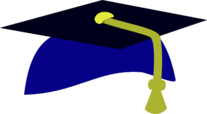 Blue Graduation Cap4 PNG images