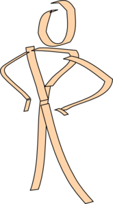 Stick Man Tired PNG Clip art