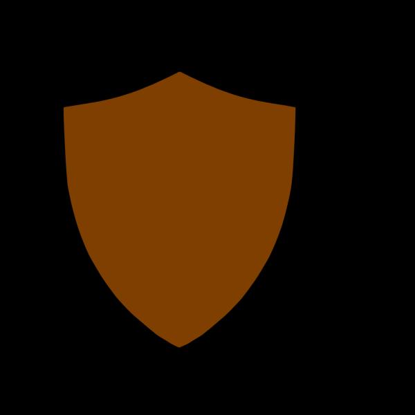 Shield-brown PNG Clip art