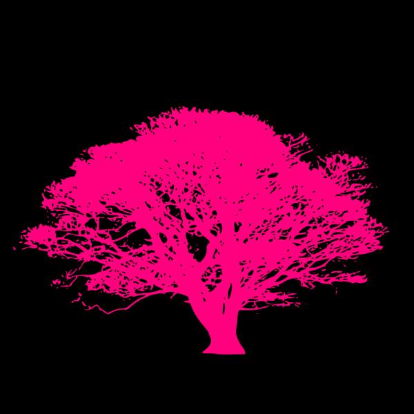 Pink Tree PNG Clip art