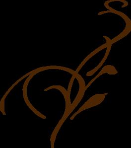 Olive Brown Vine PNG Clip art